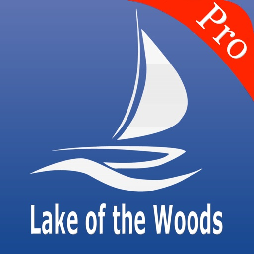 Lake of the Woods Nautical charts pro
