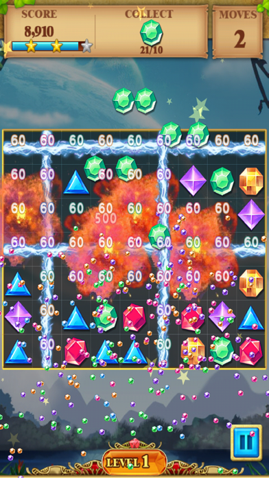 Jewel Match Blitz - Jewel Quest Saga screenshot four