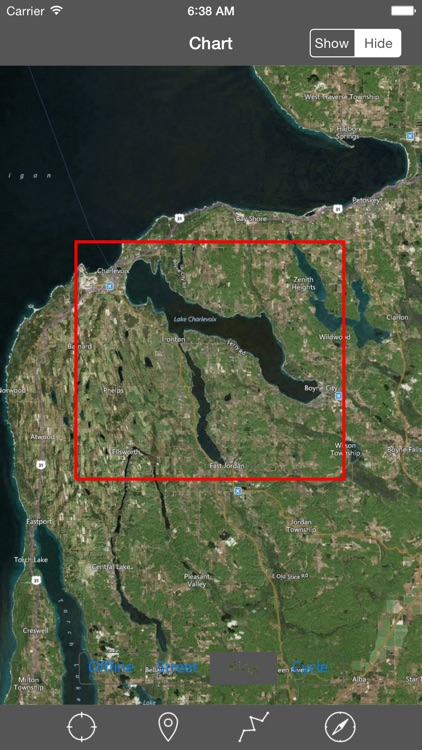 Lake Charlevoix (Michigan) – Raster Nautical Charts