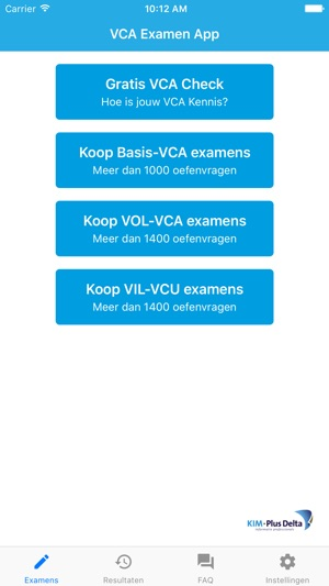 how to get percentage on iphone vca examen app in de app 7921