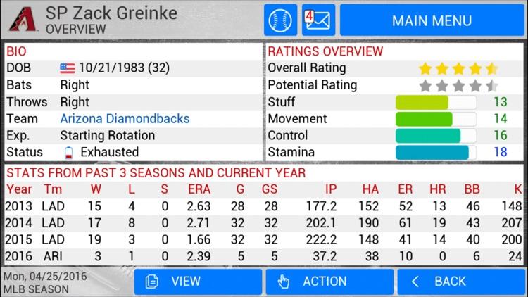 MLB Manager 2016 screenshot-3