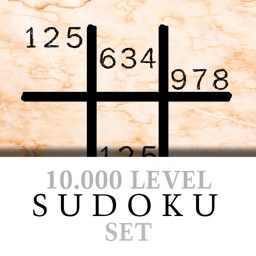A classic 10.000 SUDOKU Level Set