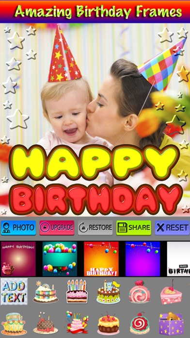 Happy Birthday Picture Frames HD