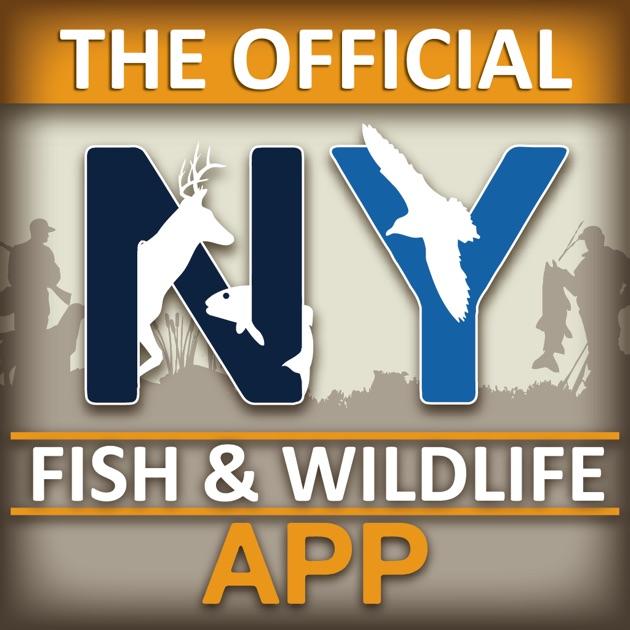 New york fishing hunting wildlife app pocket ranger for Utah hunting and fishing mobile app