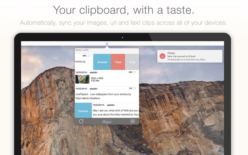 Clippo - Clipboard Manager ™ iPhone