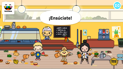 Screenshot for Toca Life: School in Ecuador App Store