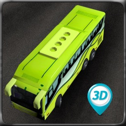 Airport Bus Simulator 3D. Real Bus Driving & Parking For kids