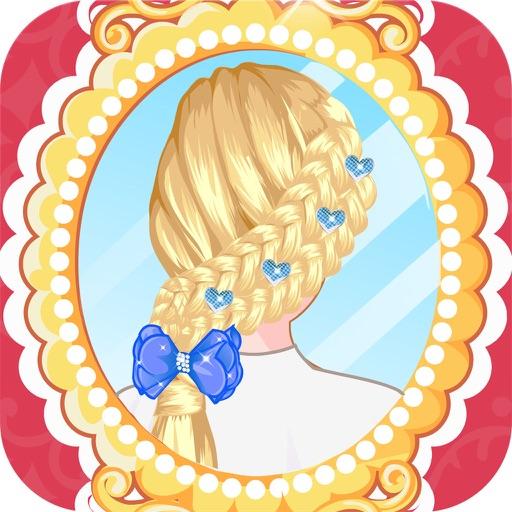 Идеально подходит коса прически парикмахер HD - самые горячие парикмахерская игры для девочек и малышей!