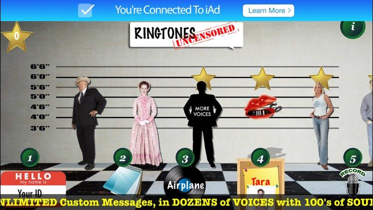 RINGTONES UNCENSORED USA Voices screenshot-3