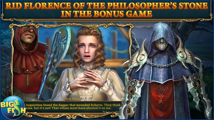 Haunted Legends: The Dark Wishes - A Hidden Object Mystery (Full) screenshot-3