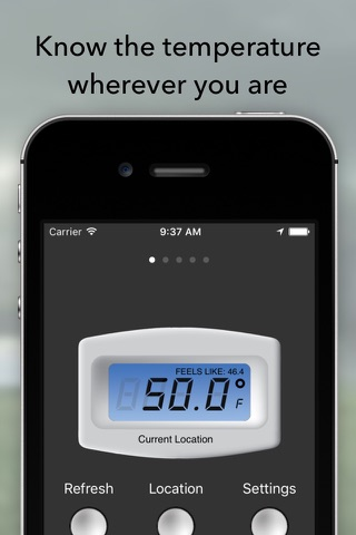 Free Digital Temperature screenshot 1