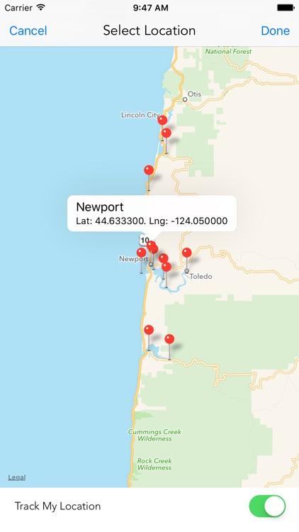 Oregon Tide Times screenshot-3