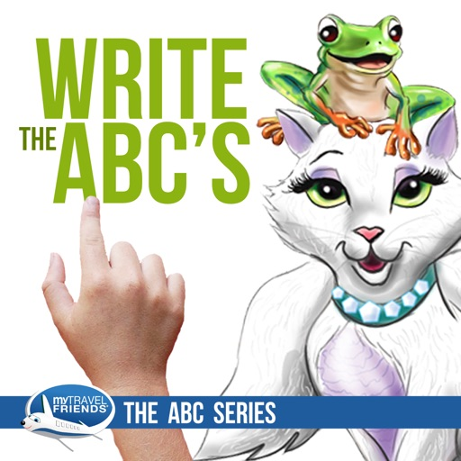 My Travel Friends® Write the ABC's