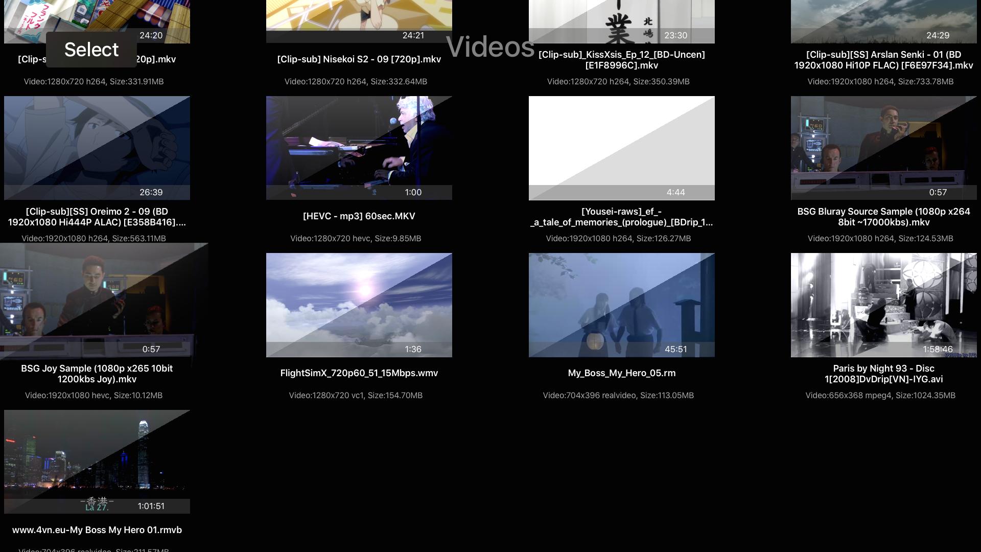 HD Player screenshot 11