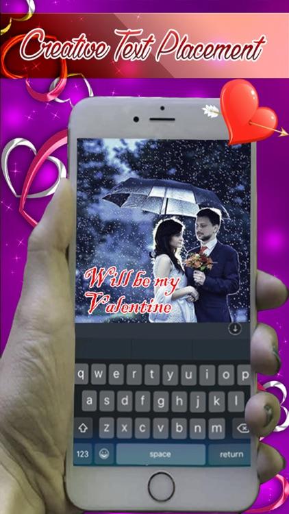 Photo Studio Writer - Put Valentine Love Text on Pictures screenshot-4