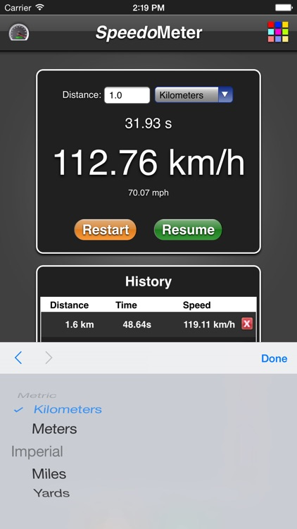 Speedometer App screenshot-2