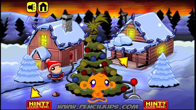 Monkey GO Happy Christmas Games screenshot-2