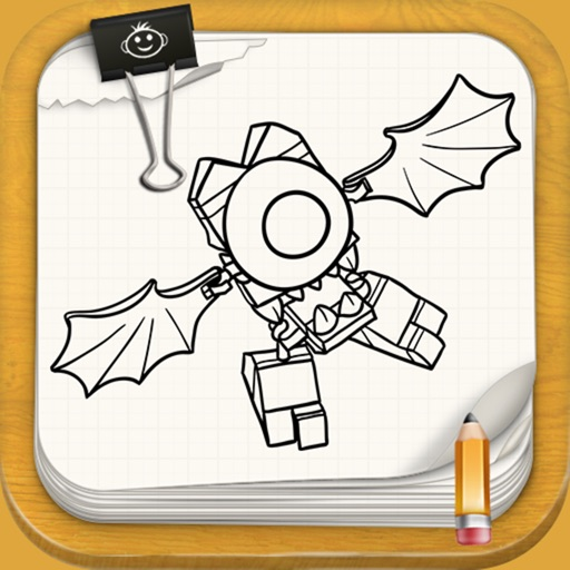 Learn to Draw For Lego Mixels