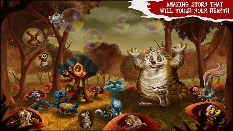 Amelia and Terror of the Night LITE - Story Book for Kids screenshot-4
