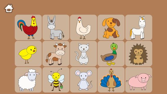Gli animali della fattoria - Giochi educativi e divertenti per bambini Screenshot
