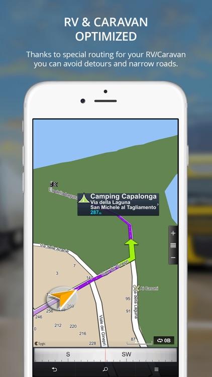 Sygic Truck GPS Navigation screenshot-4
