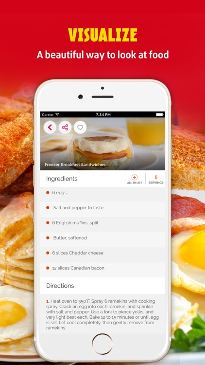 Easy Breakfast Pro ~ The Best Breakfast & Brunch Recipes screenshot-1