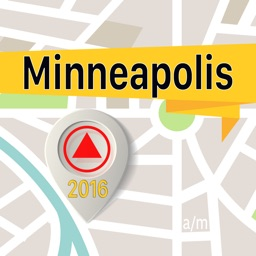 Minneapolis Offline Map Navigator and Guide