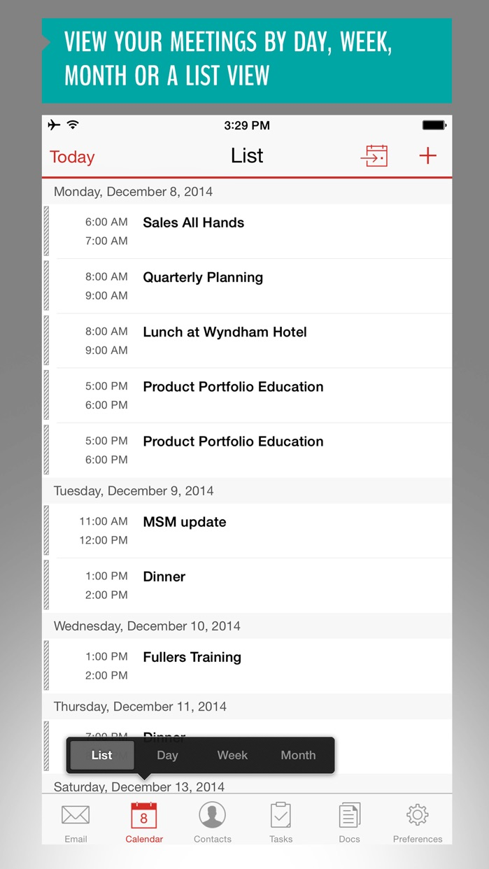 Good for Enterprise Screenshot