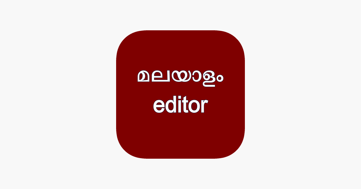 Malayalam for iPhone on the App Store