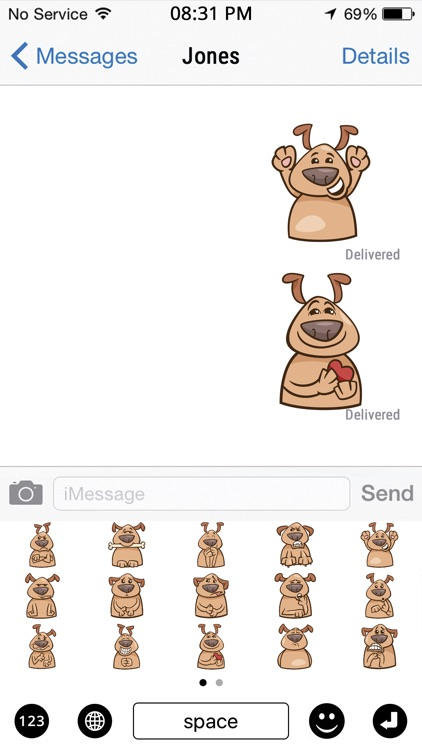 Dog Stickers screenshot-3