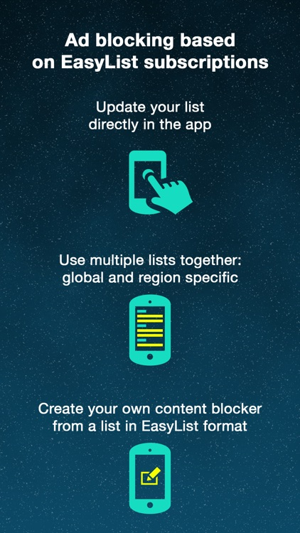 ADmosphere - Free Ad Blocker with EasyListy