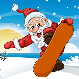 Christmas Santa Skater