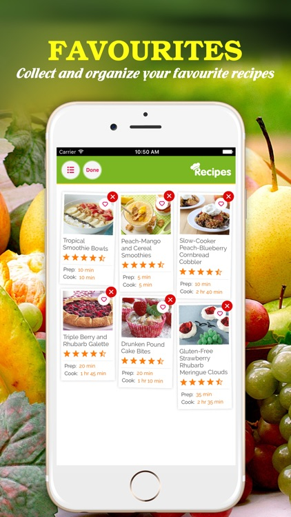 Yum Fruit ~ Best Fruit Recipes screenshot-3