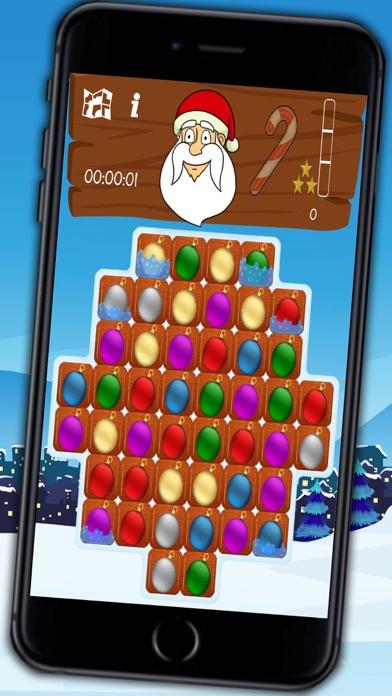 Christmas seasons & Santa crush - funny bubble game with xmas balls - Premium Screenshot 1