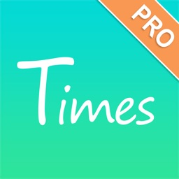 uTimes Pro - Tally&Plus one counter;Tap to record u times,concern about your life style and health status by the number of u times!