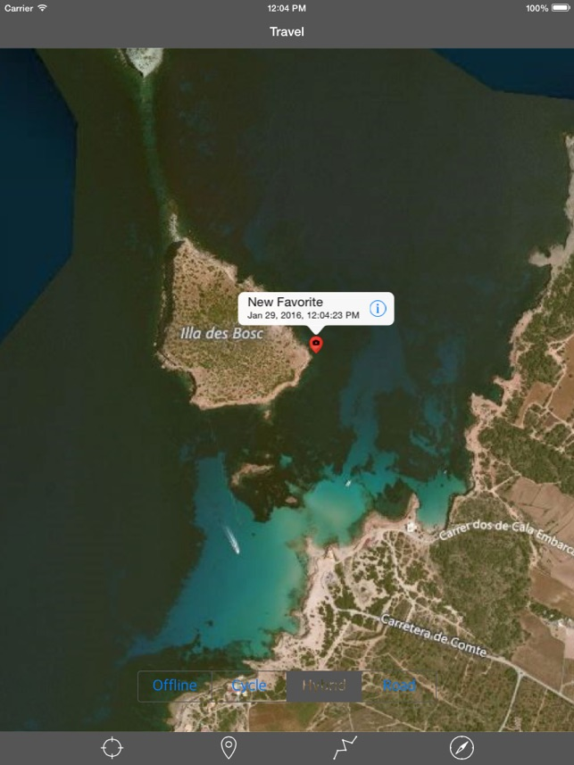 IBIZA u2013 GPS Travel Map Offline