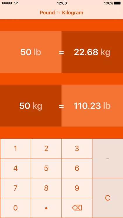 Pounds To Kilograms