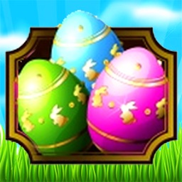 Easter Egg Games - Hunt candy and gummy bunny for kids