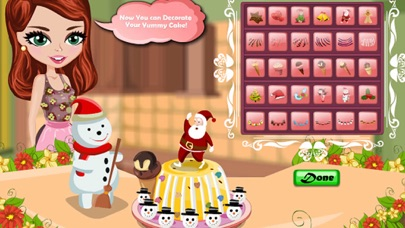 Christmas Pudding Ice Cream Maker screenshot one