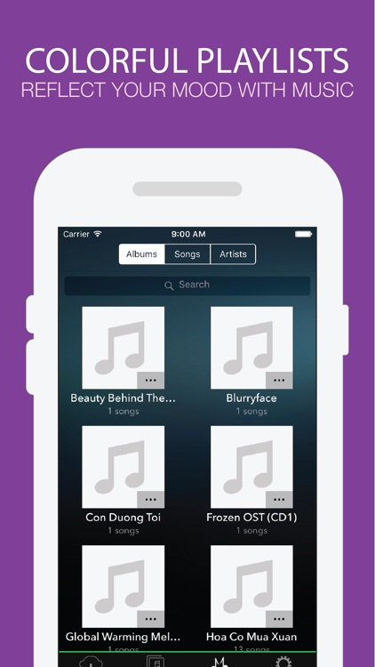 Hamado Music - Music Player for Cloud Drives screenshot-4