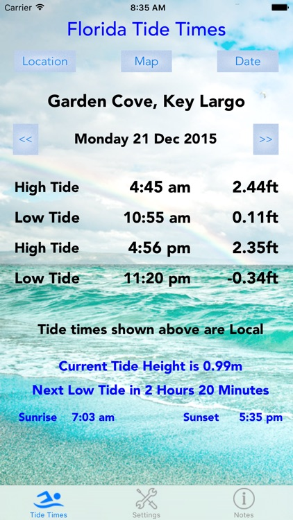 Florida Tide Times screenshot-4
