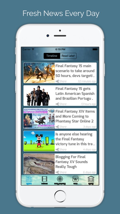 Walkthrough for Final Fantasy XV Game Free HD Screenshot on iOS