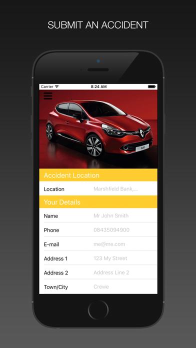 Renault Insurance Claim screenshot three