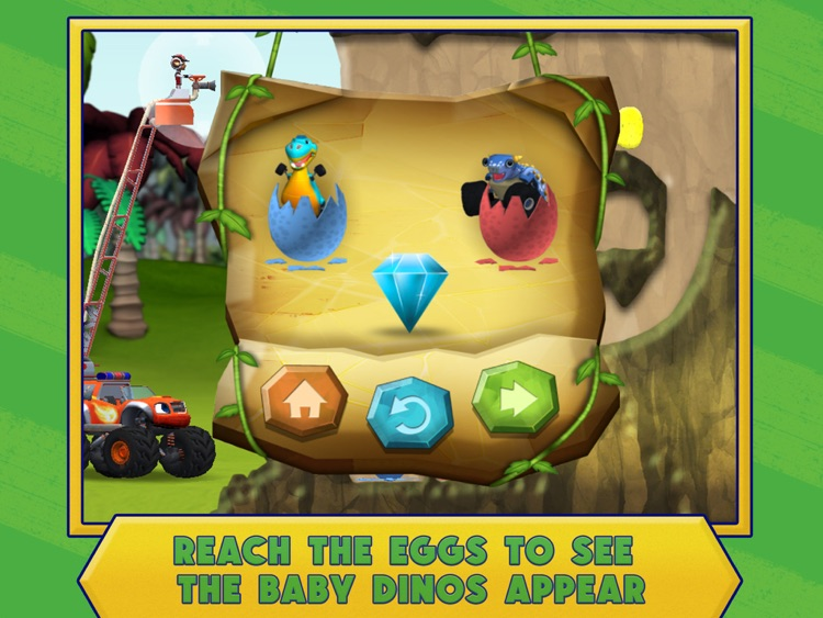 Blaze: Dinosaur Rescue HD screenshot-4
