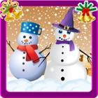 严寒冬天雪人制造商 & 打扮沙龙免费圣诞小游戏 icon