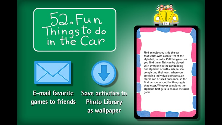 52 Things to do in the Car