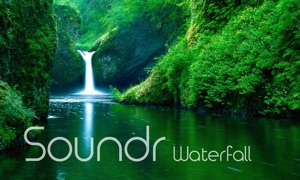 Soundr Waterfall - Scenic Video Loops