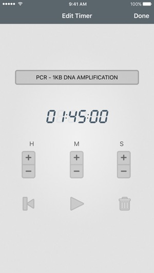 Laboratory Timer On The App Store