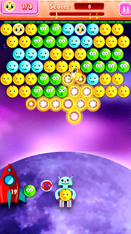 Star Commander Bubble Shooter - Galactic Imperial Force