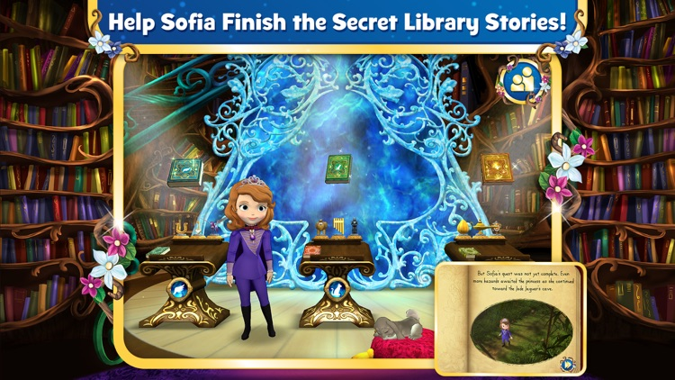Sofia the First: The Secret Library screenshot-0